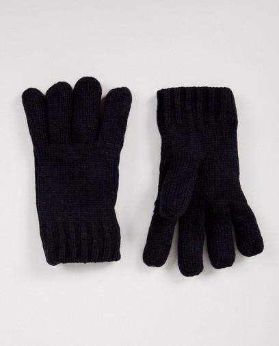 Blaue Handschuhe