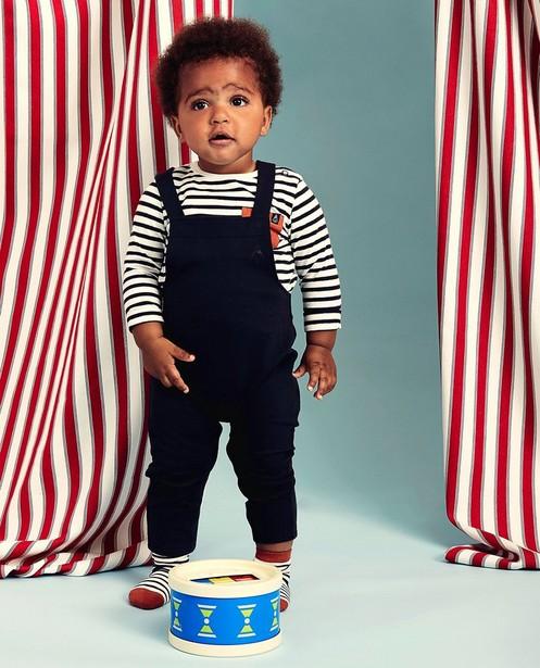 Pantalons - black - Salopette en coton bio Bumba