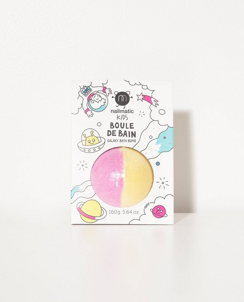 Gelb-Rosa Badebombe Nailmatic - mit 2 Farben - JBC