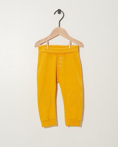 Pantalon évolutif en coton bio