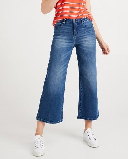 Jupe-culotte bleue en jeans Youh!