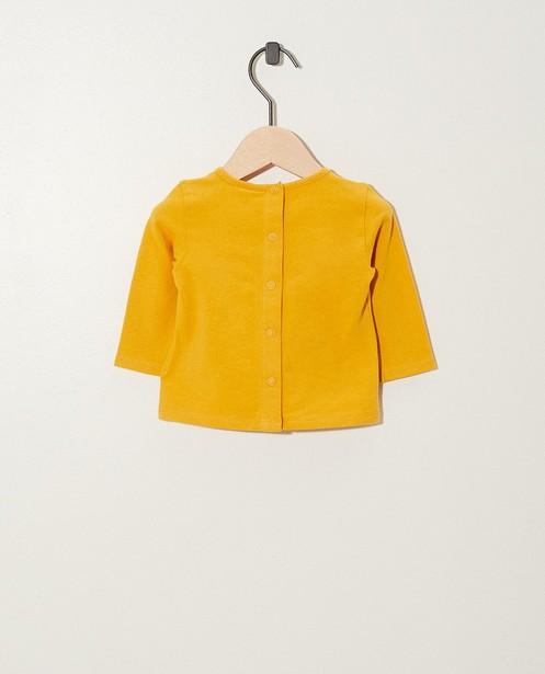 T-shirts - geel oker -