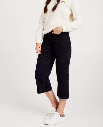 Jupe-culotte, velours côtelé