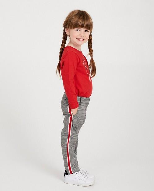 Pantalon, bande étonnante - en 3 couleurs - Milla Star