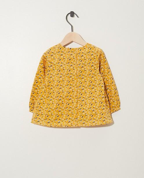 Hemden - Gele blouse met print BESTies