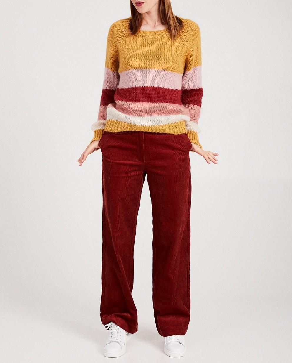 Pantalons - dark red -