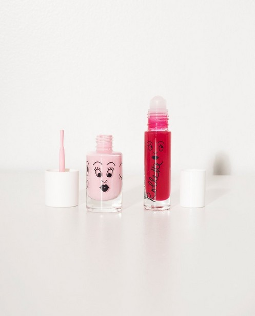 Gadgets - WTM - Set: lipgloss + nagelak Nailmatic
