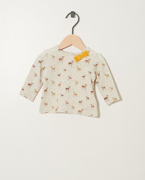 T-shirt à manches longues - coton bio, imprimé intégral - Newborn