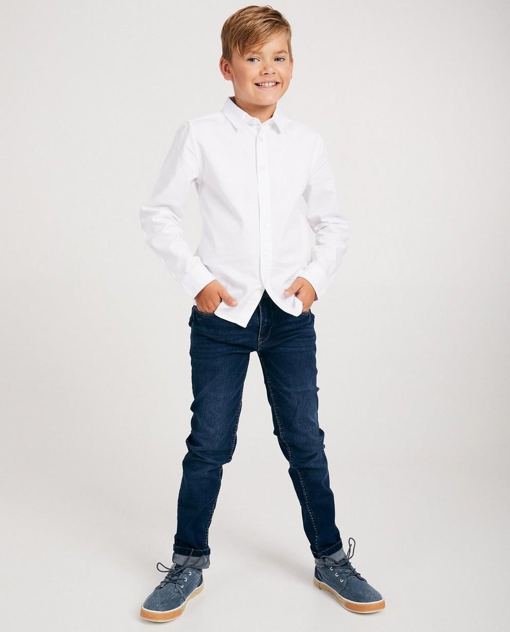 Pantalon dry denim SIMON - 7-14 ans, délavé - JBC