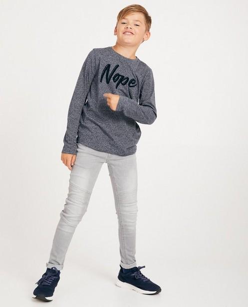 Superskinny NOAH, 7-14 ans - gris - JBC