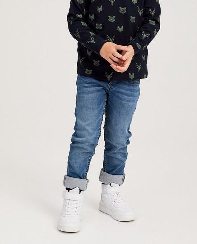 Blauwe skinny jeans - Joey 92-128