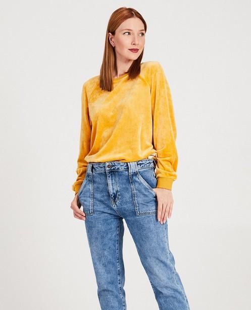 Sweats - geel oker -