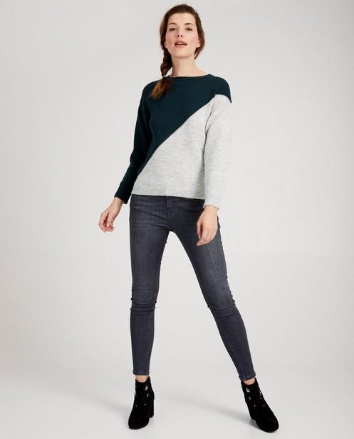 Broek van gerecycleerde jeans I AM - post-consumer-denim - I AM