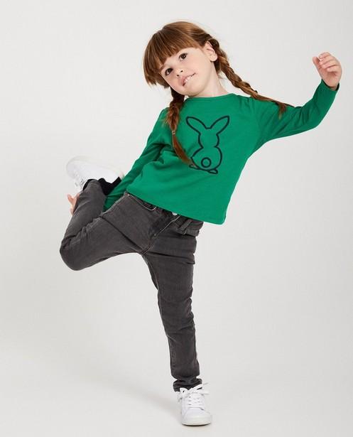 Skinny Marie, 2-7 ans - bleu foncé, bleu et gris - Milla Star