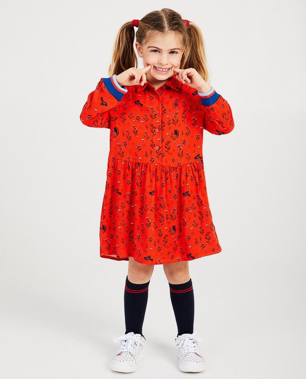 Rode jurk met print Hampton Bays - van viscose - Hampton Bays
