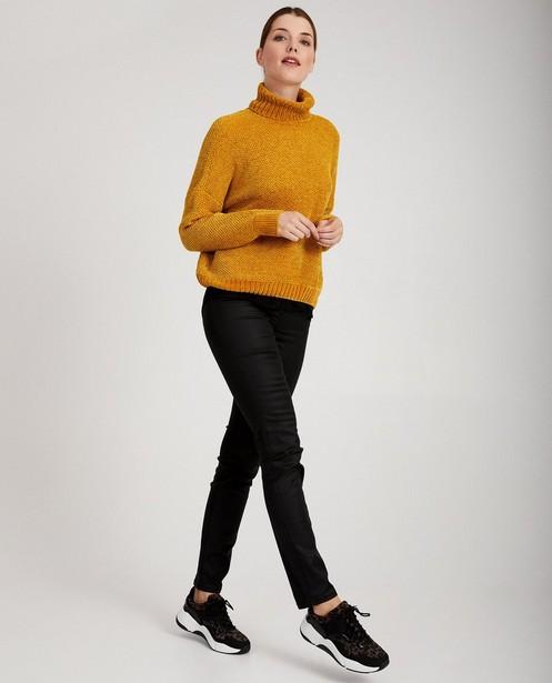 Pull beige en luxueux tricot - 3 couleurs - JBC