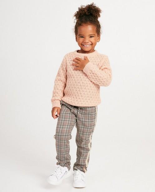 Pull en tricot luxueux Prinsessia - rose - Prinsessia