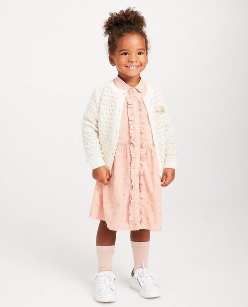 Gilet en tricot luxueux Prinsessia - motif torsadé - Prinsessia