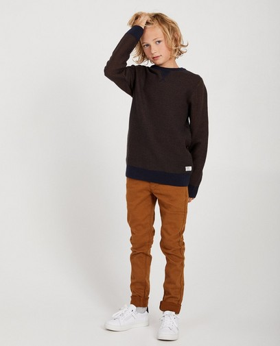 Un pull que vous combinez avec toutes les tenues d'école