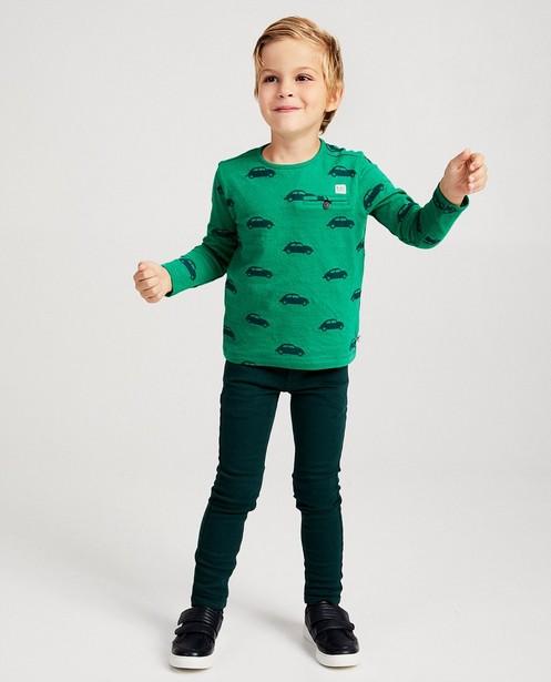 Skinny vert foncé JOEY, 2-7 ans - green streets - JBC