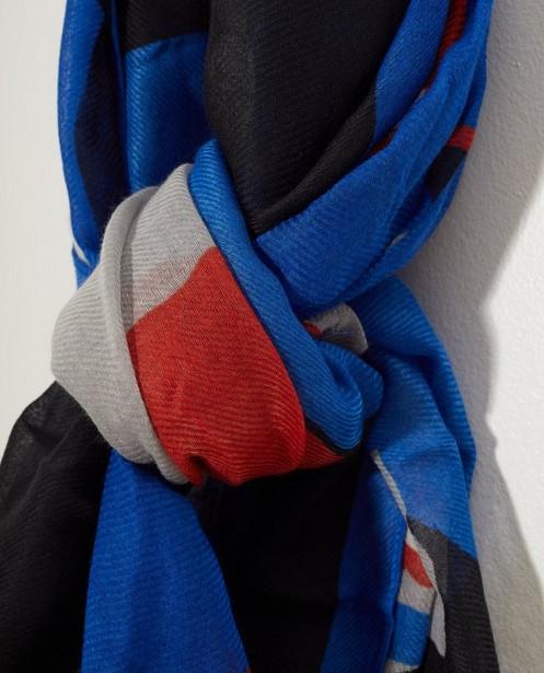 Breigoed - Blauwe sjaal