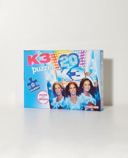 Puzzel met glitters K3