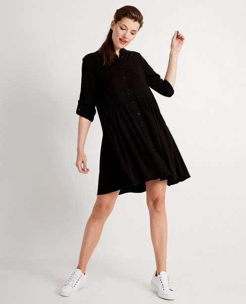 Zwarte jurk - effen kleur - JBC