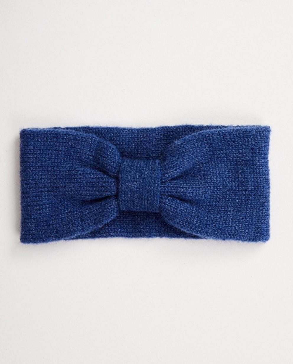 Kobaltblaues Stirnband - aus Feinstrick - JBC