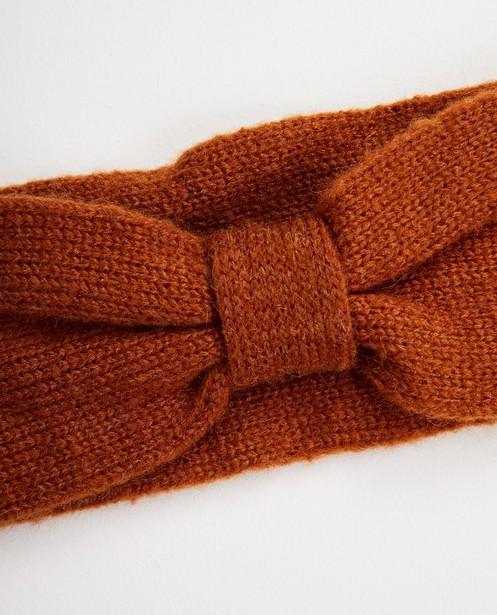Strickware - Braunes Stirnband