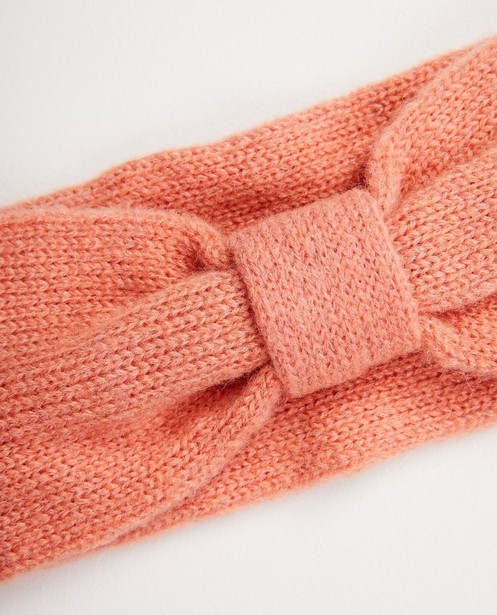 Strickware - Rosa Stirnband