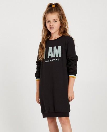 Donkergrijze sweaterjurk I AM