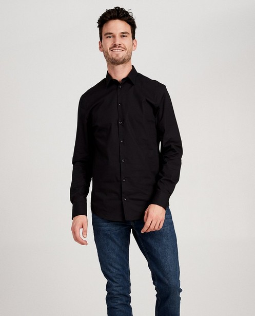 Hemden - BLD - Zwart hemd