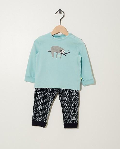 Pyjama évolutif en coton bio - évolutif - Cuddles and Smiles