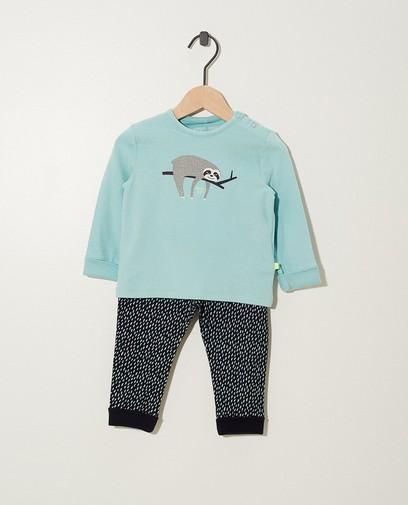 Meegroei pyjama in biokatoen