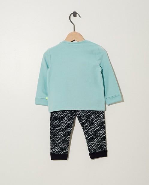 Pyjamas - aqua - Pyjama évolutif en coton bio