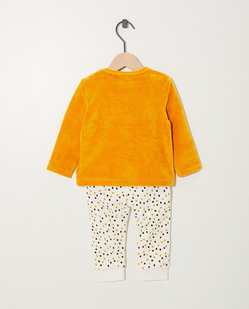 Pyjamas - geel oker - Pyjama jaune avec un chien