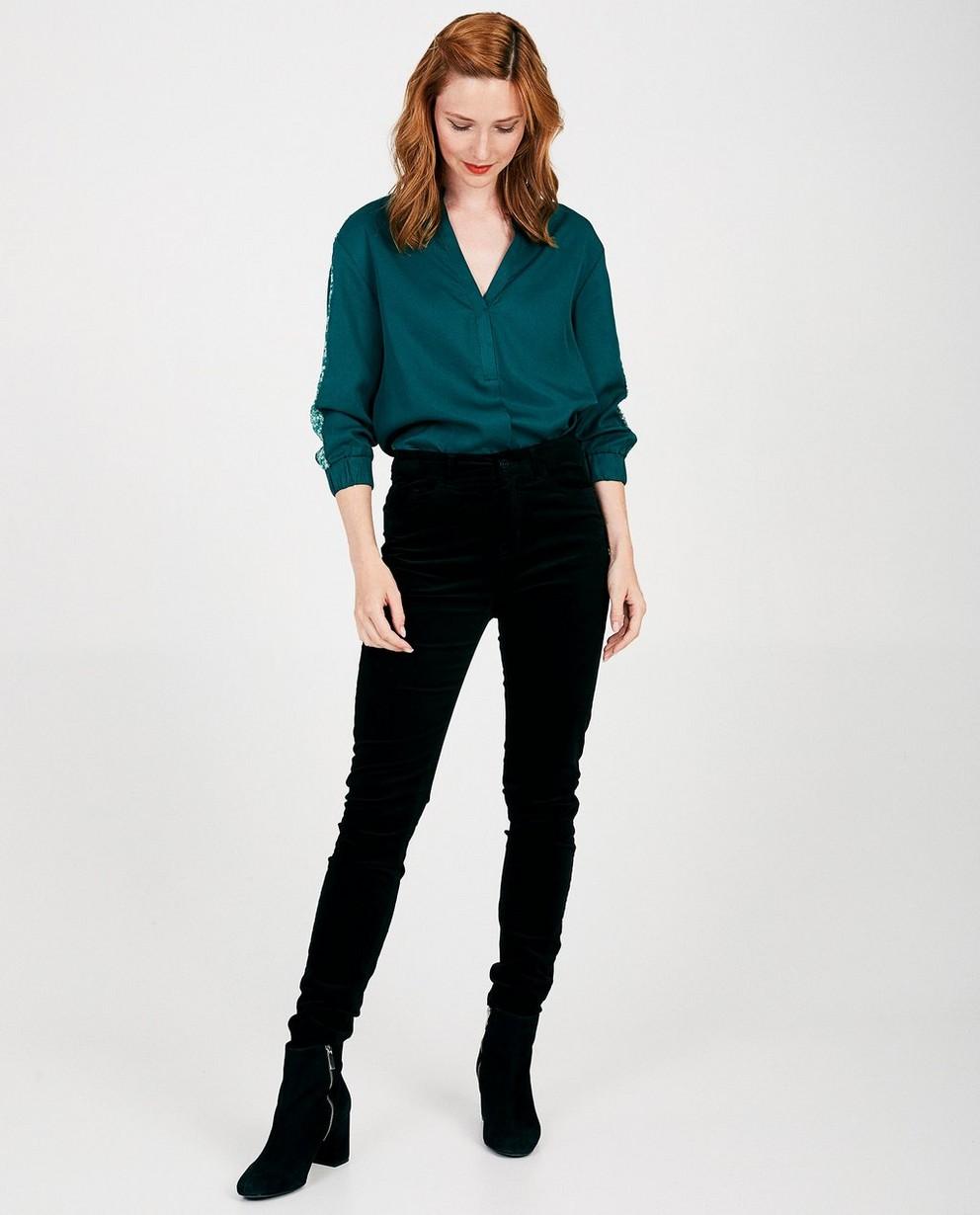 Groene blouse van lyocell Sora - van lyocell - Sora