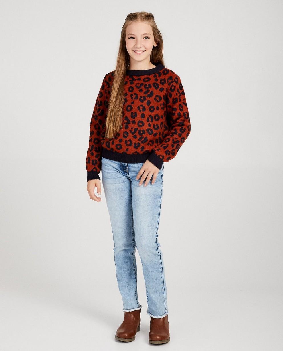 Straight fit jeans LENE - met rafels - JBC