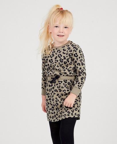 Kleid mit Leopardendruck