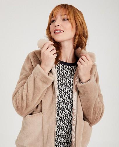 Vest van faux fur Karen Damen