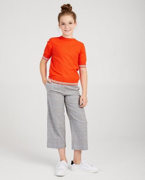Oranje truitje #Like Me - met korte mouwen - Like Me