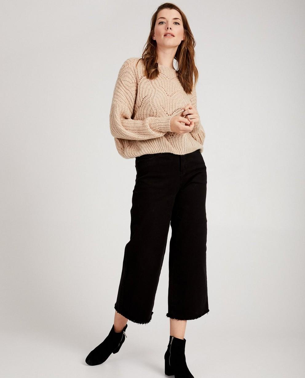 Zwarte brede jeans - Youh! - comfort - YOUH!