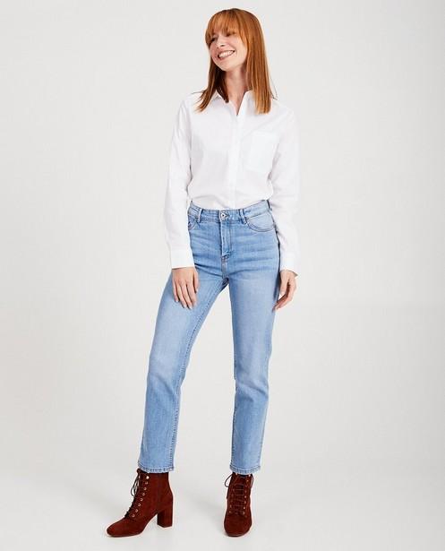 Blauwe jeans Sora - naad - Sora