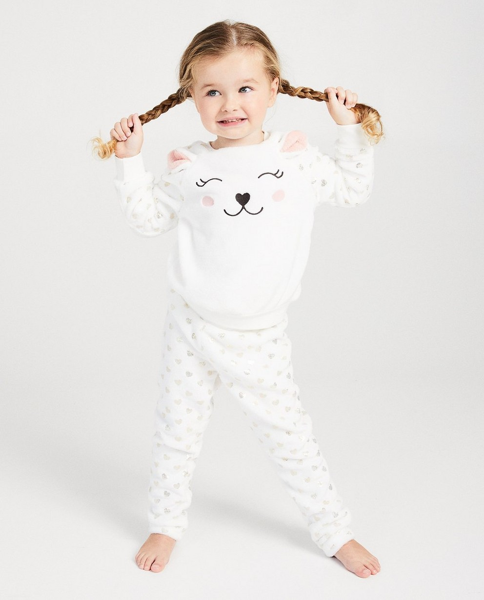 Pyjamas - light beige -