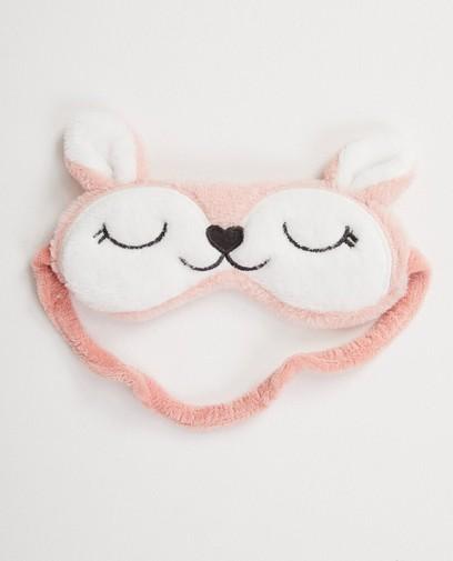 Masque de sommeil rose