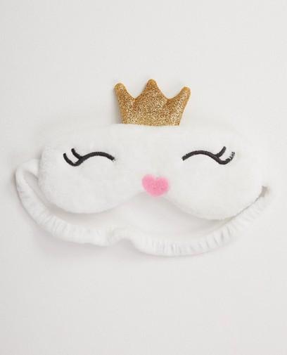 Weiße Augenmaske