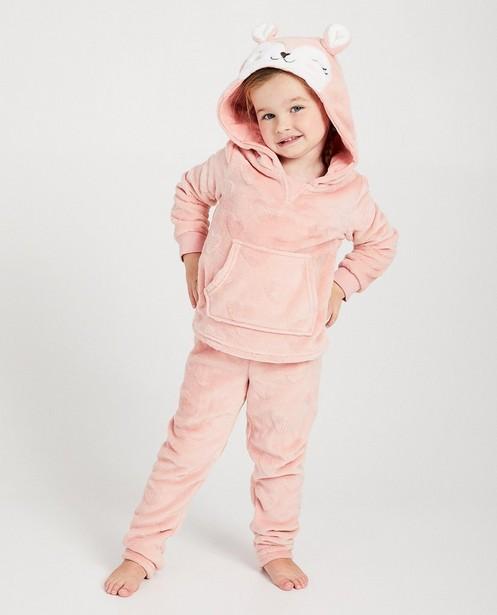Pyjama rose - fausse fourrure douce - JBC