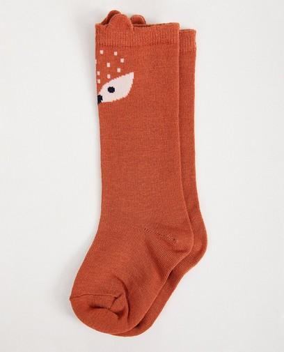 Chaussettes brunes, petit animal