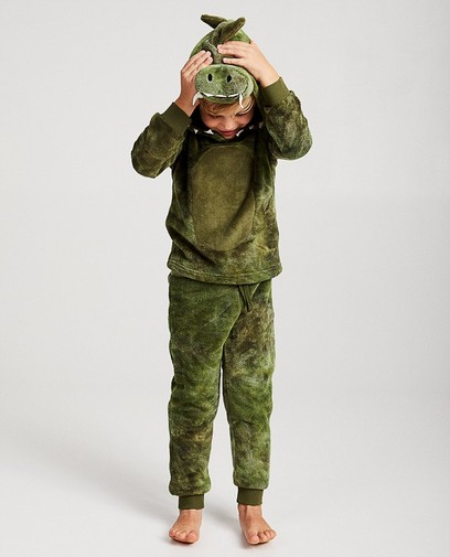 Krokodillen-huispakje van fleece