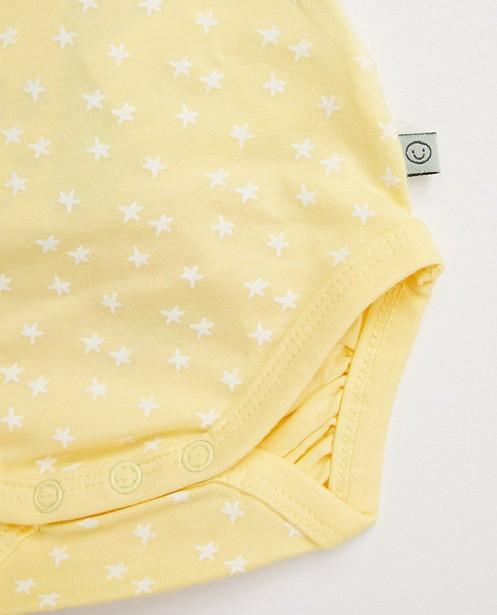Onesies - AO3 - Strampler mit Sternen 100 % Biobaumwolle